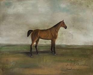 A Bay Hunter Digital Print by McCavitt, Naomi,Impressionism