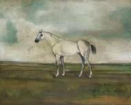 A Grey Hunter in a Landscape Digital Print by McCavitt, Naomi,Impressionism