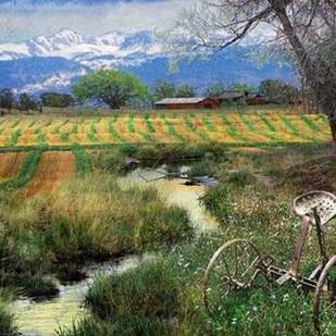 Idyllic Farm I Digital Print by Vest, Chris,Impressionism