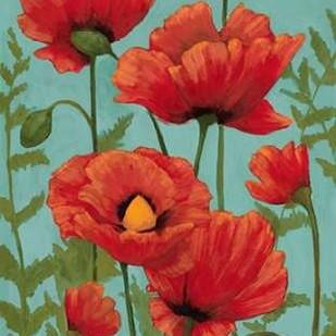 Poppy Promenade II Digital Print by Popp, Grace,Impressionism