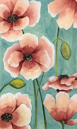 Freckled Poppies I Print By Popp, Grace