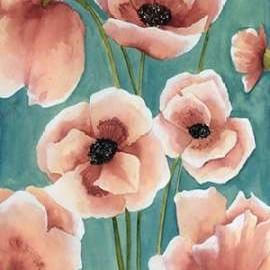 Freckled Poppies II Digital Print by Popp, Grace,Impressionism
