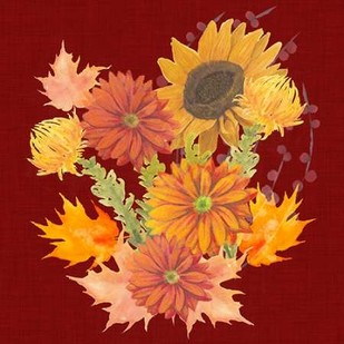 Autumn Floral II Digital Print by Popp, Grace,Decorative