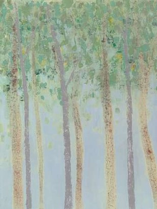 Hazy Woodlands I Digital Print by Popp, Grace,Impressionism