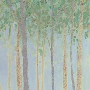 Hazy Woodlands II Digital Print by Popp, Grace,Impressionism