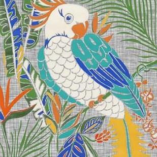 Tropical Cockatoo Digital Print by Zarris, Chariklia,Decorative