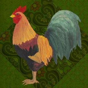 Yard Bird II Digital Print by Popp, Grace,Decorative