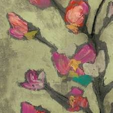 Impasto Flowers I Digital Print by Goldberger, Jennifer,Impressionism