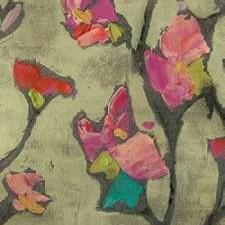 Impasto Flowers II Digital Print by Goldberger, Jennifer,Impressionism