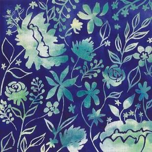 Indigo Batik I Digital Print by Popp, Grace,Decorative