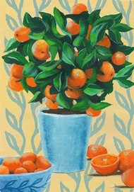 Opulent Citrus II Digital Print by Popp, Grace,Decorative