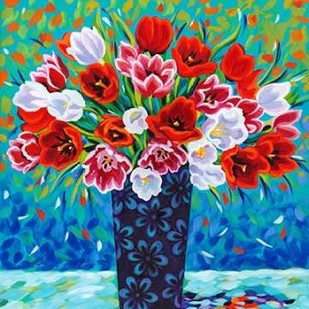 Bouquet Celebration I Digital Print by Vitaletti, Carolee,Impressionism