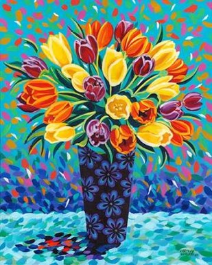 Bouquet Celebration II Digital Print by Vitaletti, Carolee,Decorative