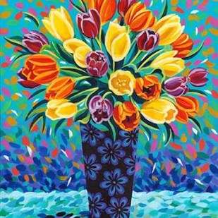 Bouquet Celebration II Digital Print by Vitaletti, Carolee,Decorative