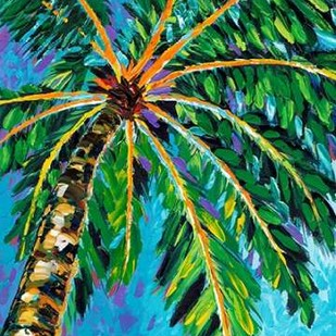 Under the Palms I Digital Print by Vitaletti, Carolee,Impressionism