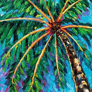 Under the Palms II Digital Print by Vitaletti, Carolee,Impressionism