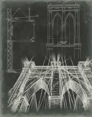 Iconic Blueprint IV Digital Print by Harper, Ethan,Illustration