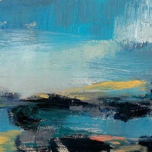 Bold Horizon I Digital Print by Goldberger, Jennifer,Impressionism