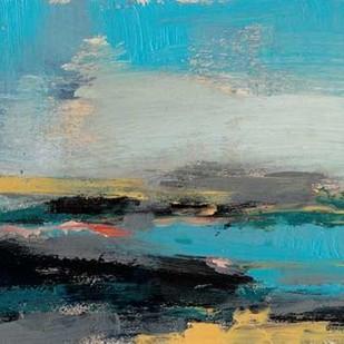 Bold Horizon II Digital Print by Goldberger, Jennifer,Impressionism