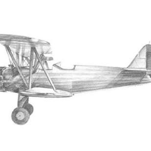 Technical Flight I Digital Print by Harper, Ethan,Illustration