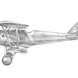 Technical Flight III Digital Print by Harper, Ethan,Illustration