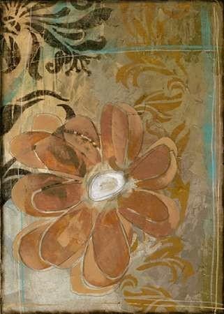 Floral Abstraction II Digital Print by Goldberger, Jennifer,Decorative