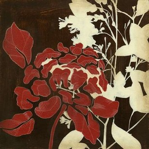 Linen and Silhouettes I Digital Print by Goldberger, Jennifer,Decorative