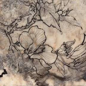 Tattooed Floral I Digital Print by Goldberger, Jennifer,Decorative