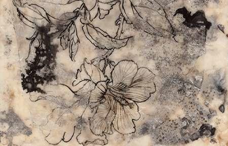 Tattooed Floral I By Goldberger, Jennifer