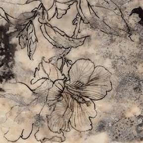 Tattooed Floral II Digital Print by Goldberger, Jennifer,Decorative
