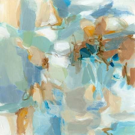 West of the Sea Digital Print by Long, Christina,Abstract