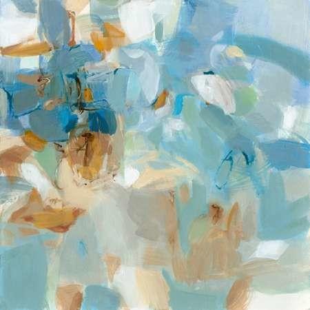 Sparkle Beach Digital Print by Long, Christina,Abstract