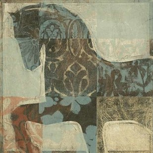 Patterned Horse I Digital Print by O'Toole, Tim,Decorative