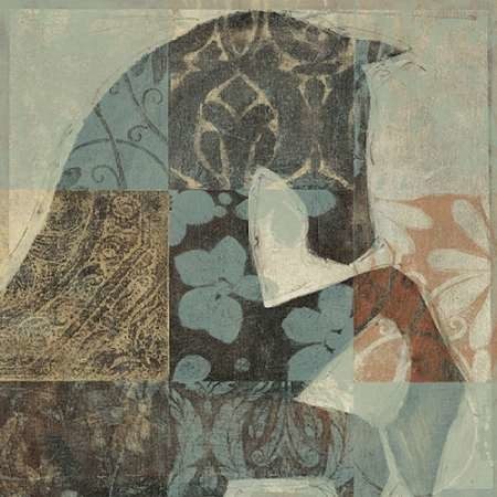 Patterned Horse II Digital Print by O'Toole, Tim,Decorative
