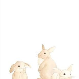 Baby Animals I Digital Print by Vess, June Erica,Impressionism