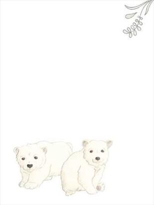 Baby Animals II Digital Print by Vess, June Erica,Impressionism