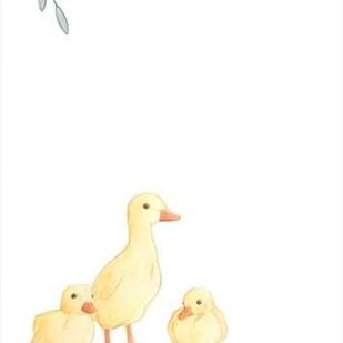 Baby Animals III Digital Print by Vess, June Erica,Impressionism