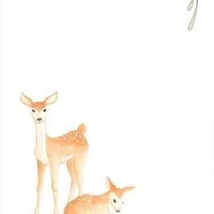 Baby Animals VI Digital Print by Vess, June Erica,Impressionism