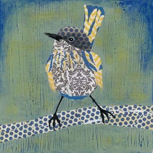 Patchwork Wren I Digital Print by Popp, Grace,Decorative