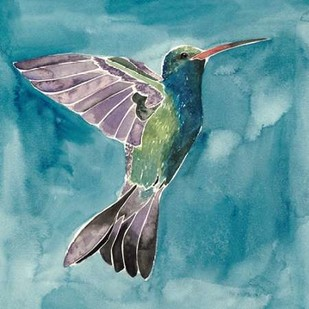 Watercolor Hummingbird I Digital Print by Popp, Grace,Impressionism