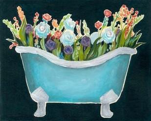 2-Up Bathtub Garden II Digital Print by Popp, Grace,Decorative