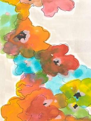 Floral Cascade II Digital Print by Fuchs, Jodi,Impressionism