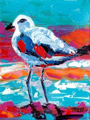 Seaside Birds I Digital Print by Vitaletti, Carolee,Impressionism