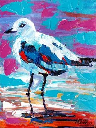 Seaside Birds II Digital Print by Vitaletti, Carolee,Impressionism