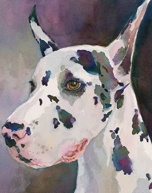 Mary Kay Great Dane Digital Print by Fagan, Edie,Impressionism