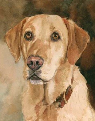 Houston Yellow Lab Digital Print by Fagan, Edie,Realism