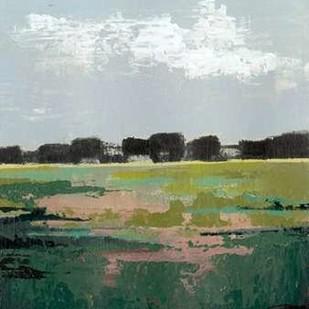 Glowing Pasture I Digital Print by Popp, Grace,Impressionism
