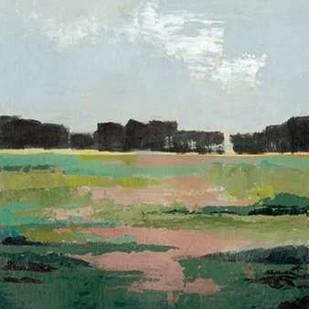 Glowing Pasture II Digital Print by Popp, Grace,Impressionism