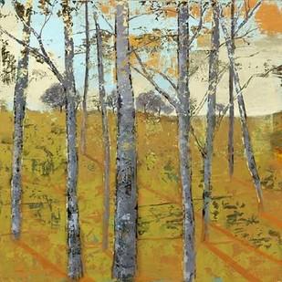 Thicket on the Hill II Digital Print by Joy, Julie,Impressionism