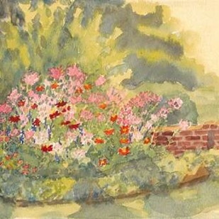 Watercolor Garden V Digital Print by Miller, Dianne,Impressionism